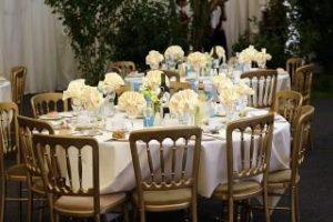 שולחן קייטרינג לשבת חתן